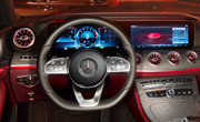 CLS Coupé interior