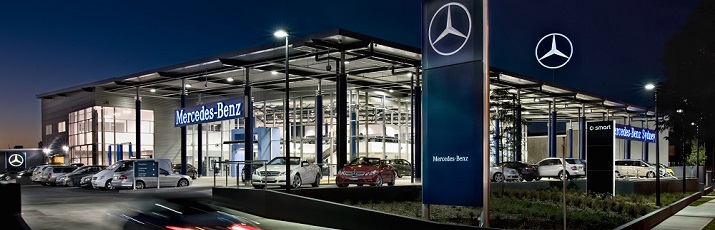 mercedes-benz sydney, dealership, showroom